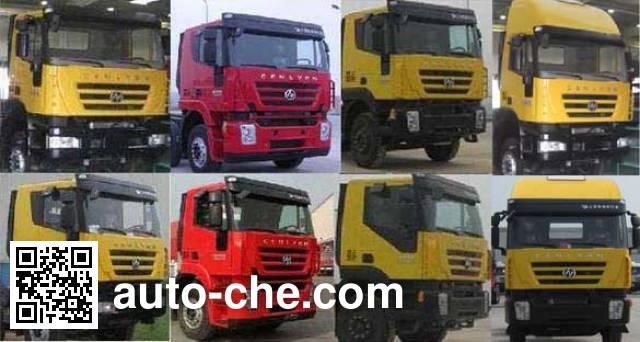 SAIC Hongyan CQ1255HMG504 cargo truck