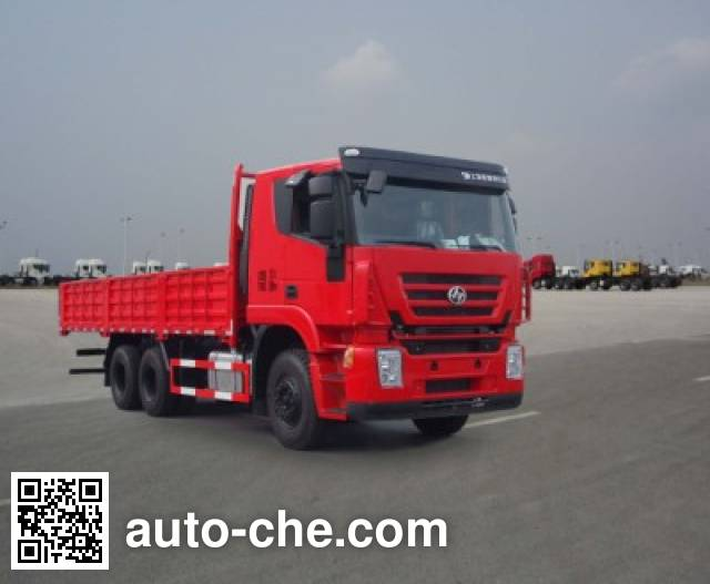 SAIC Hongyan CQ1255HTG444 cargo truck