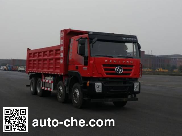 SAIC Hongyan CQ3316HMDG276L dump truck