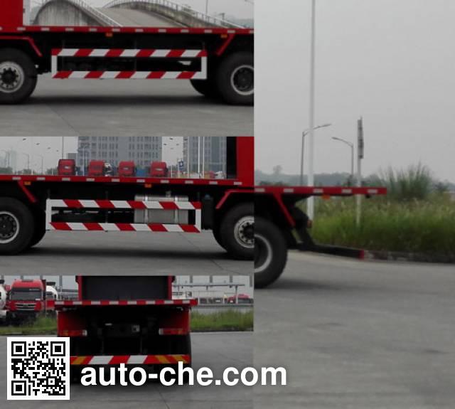 SAIC Hongyan CQ3316HTVG426B flatbed dump truck