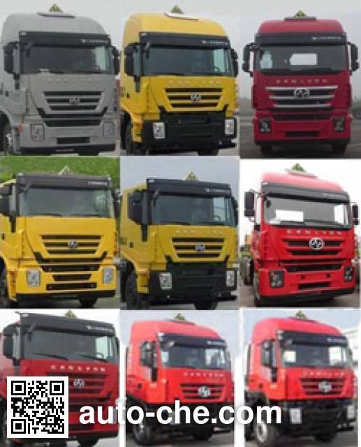 SAIC Hongyan CQ4256HTDG334U dangerous goods transport tractor unit