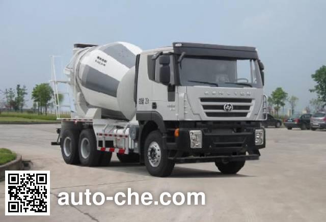SAIC Hongyan CQ5255GJBHTG404 concrete mixer truck