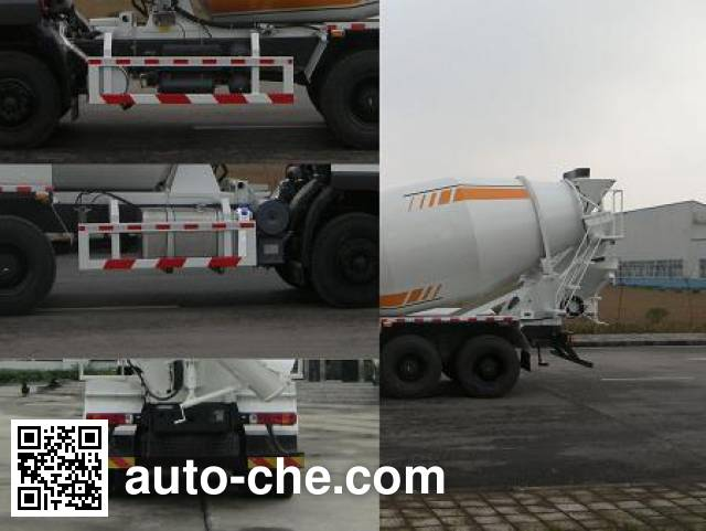 SAIC Hongyan CQ5255GJBHTG424 concrete mixer truck