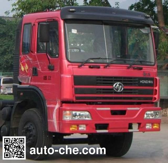 SAIC Hongyan CQ5314GFLTRG466 bulk powder tank truck