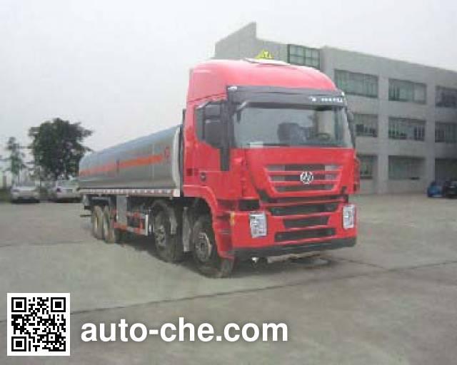 SAIC Hongyan CQ5315GJYHMG466 fuel tank truck