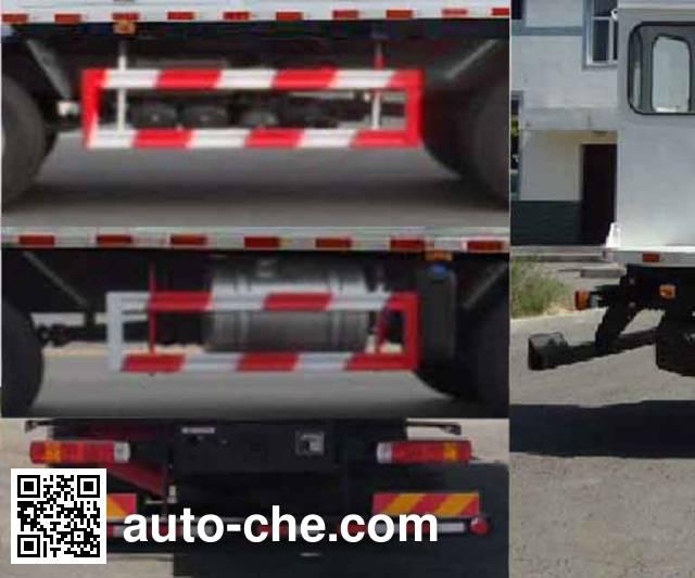 SAIC Hongyan CQ5315THRHTG466 emulsion explosive on-site mixing truck
