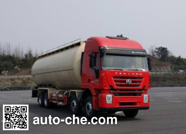 SAIC Hongyan CQ5316GFLHXVG466H low-density bulk powder transport tank truck