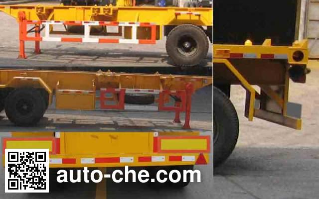 SAIC Hongyan CQZ9391TJZ container transport trailer