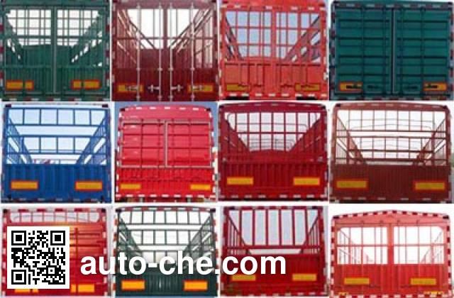 SAIC Hongyan CQZ9401CCY stake trailer