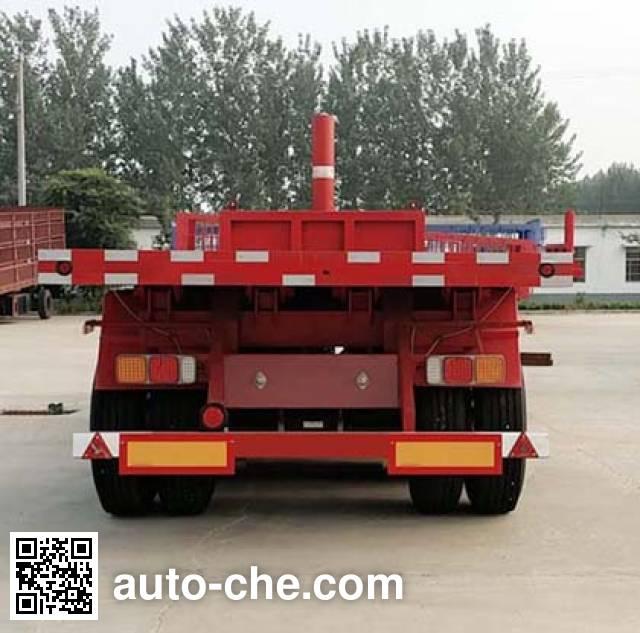 SAIC Hongyan CQZ9400ZZXP flatbed dump trailer