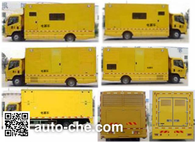 XGMA Chusheng CSC5120XDYDV мобильная электростанция на базе автомобиля
