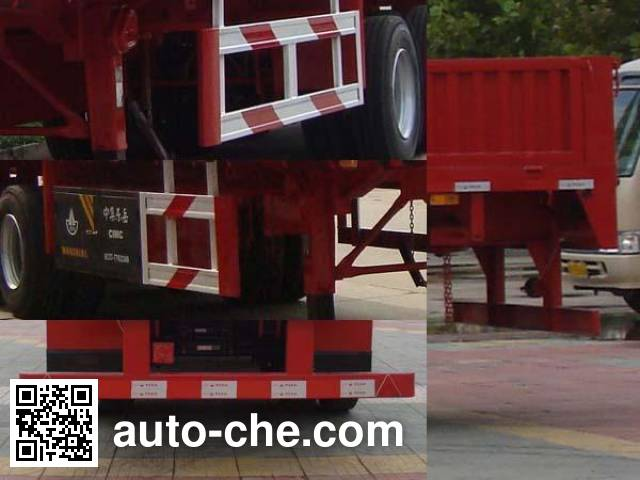 CIMC Liangshan Dongyue CSQ9350 trailer