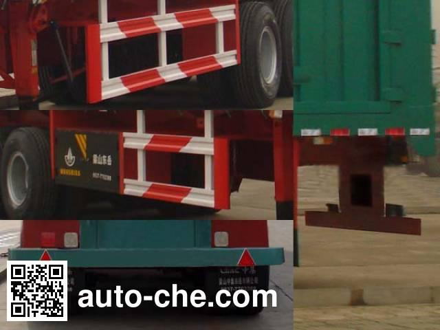 CIMC Liangshan Dongyue CSQ9402XXY box body van trailer