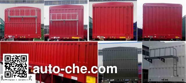 Liangshan Dongyue CSQ9404CCY stake trailer