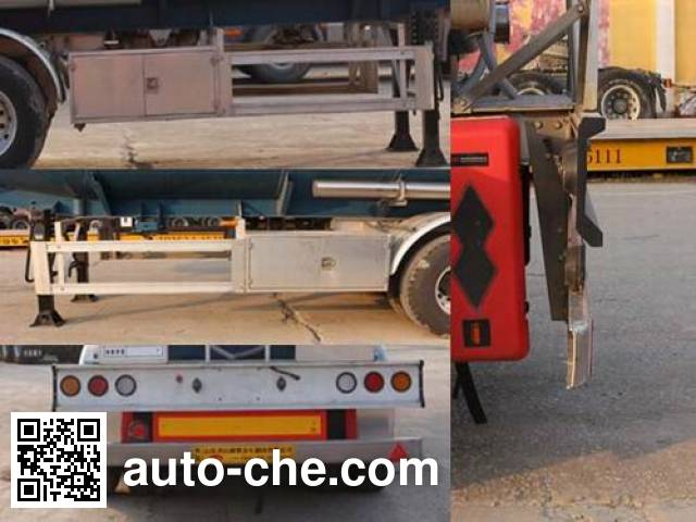 Tongya CTY9403GYYGQ aluminium oil tank trailer