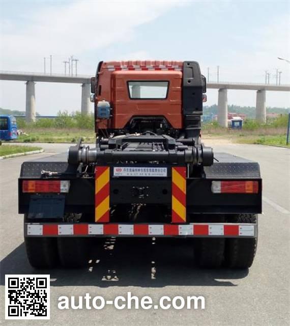 Huanghai DD5310ZXX detachable body garbage truck
