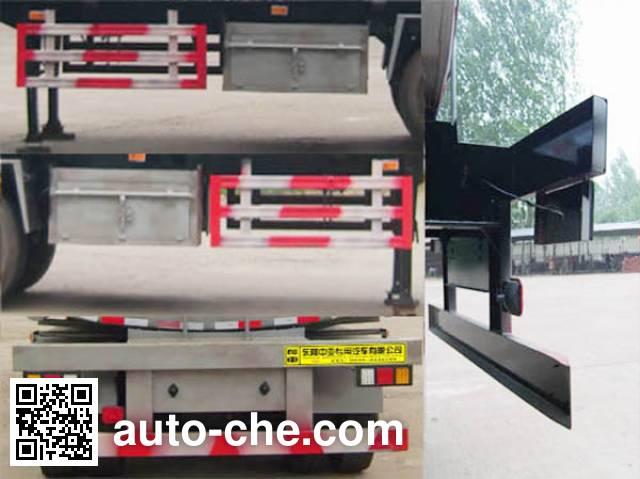 Qilu Zhongya DEZ9400GRYB flammable liquid tank trailer