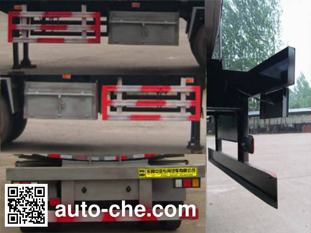 Qilu Zhongya DEZ9401GRYB flammable liquid tank trailer