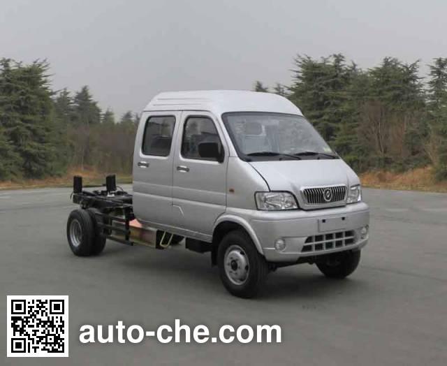Huashen DFD1030NUJ3 шасси двухтопливного легкого грузовика