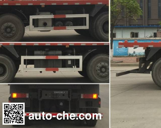 Dongfeng DFH3310A11 flatbed dump truck