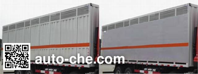 Dongfeng DFH5310XFWAX2 corrosive goods transport van truck