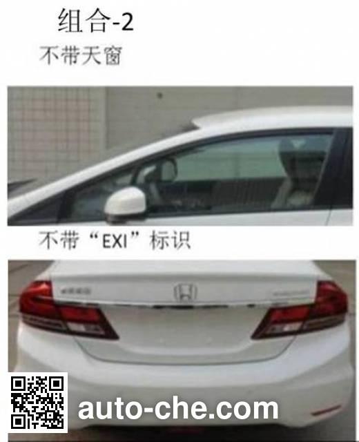 Honda Civic DHW7182FBAFE car