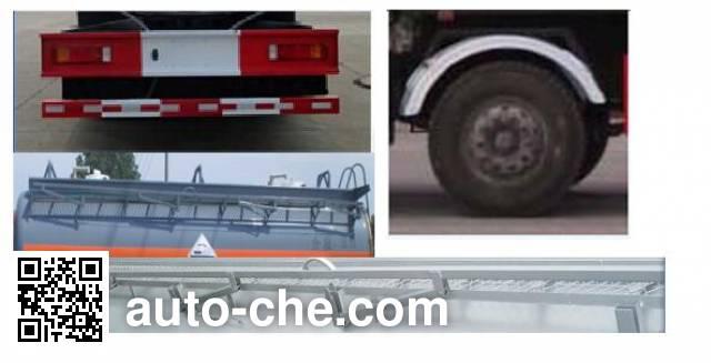 Dali DLQ5252GFWC5 corrosive substance transport tank truck