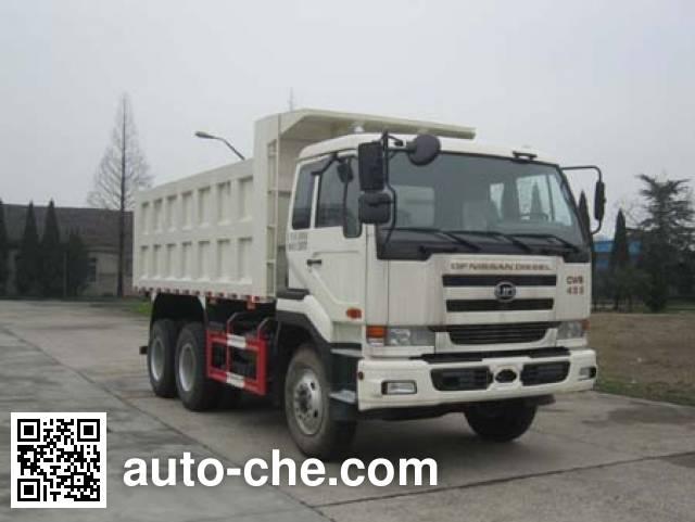 Nissan Diesel Truck >> Dongfeng Nissan Diesel Dnd3253cwb459h Dump Truck On