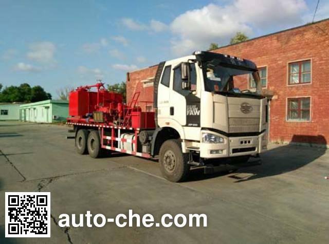 Jingtian DQJ5180TJC well flushing truck