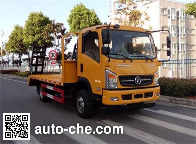 Dayun DYQ5040TPBD5AB flatbed truck