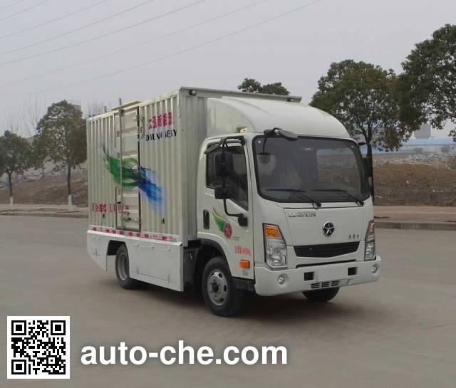 大运牌DYX5040XXYBEV1CAG0纯电动厢式运输车