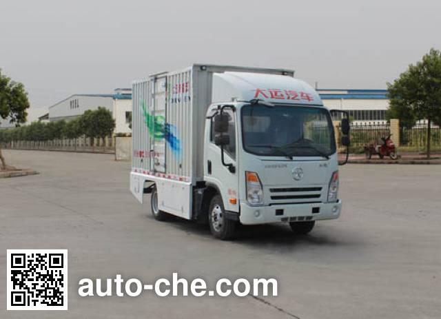 大运牌DYX5044XXYBEV1CBBJFAHK纯电动厢式运输车