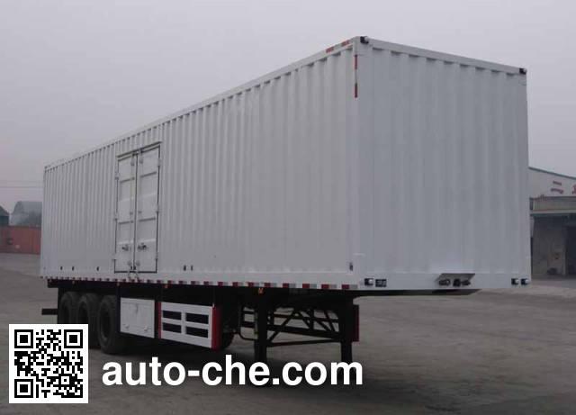 Dayun DYX9390X380A box body van trailer