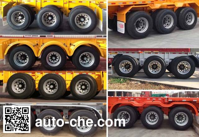 Dayun DYX9400TJZ347 container transport trailer