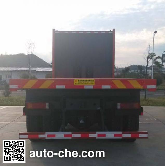 Dongfeng EQ3310AT24 flatbed dump truck