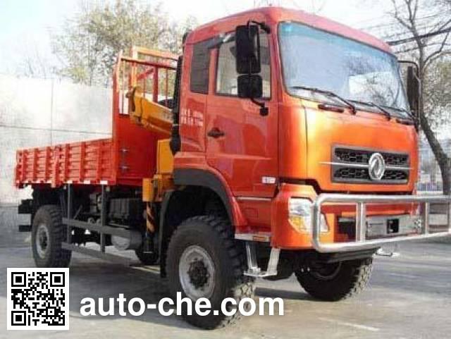 Dongfeng EQ5161TSM desert off-road truck mounted loader crane