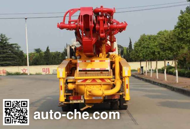 Dongfeng EQ5230THBL concrete pump truck