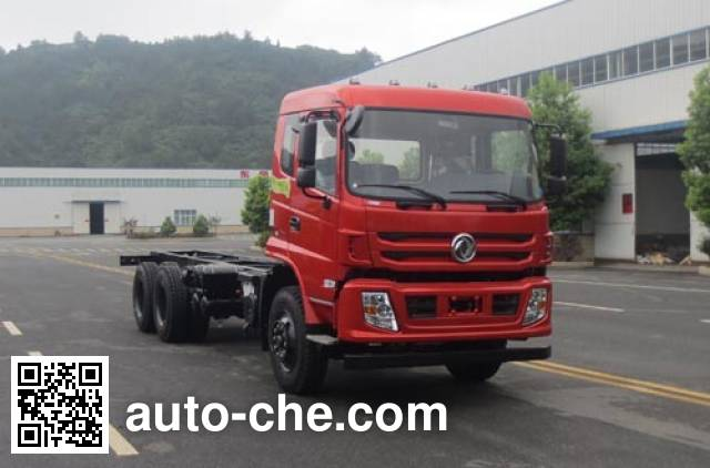 Dongfeng EQ5258JSQFVJ truck mounted loader crane chassis