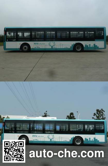 Dongfeng EQ6120CLCHEV hybrid city bus