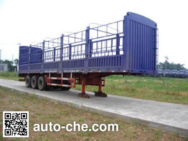 Dongfeng EQ9280CCQT stake trailer