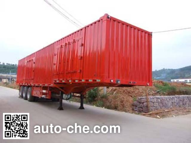 Minfeng FDF9402XXY box body van trailer