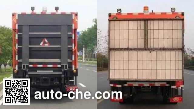 英达牌FTT5100TXBPM22V沥青路面热再生修补车