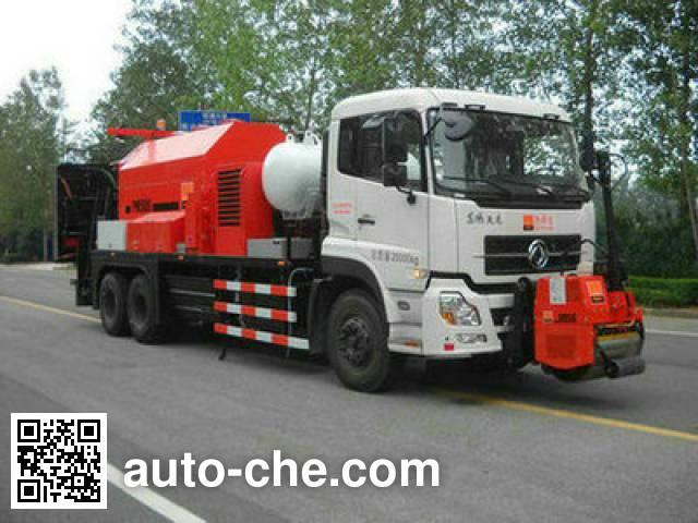 英达牌FTT5252TXBPM5沥青路面热再生修补车