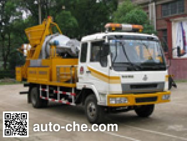 Shaohua GXZ5080TYH pavement maintenance truck