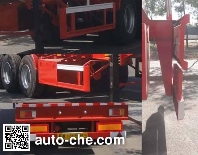 Changhua HCH9400GFWYSG corrosive materials transport tank trailer