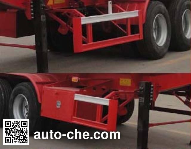 Changhua HCH9400GYY45 oil tank trailer
