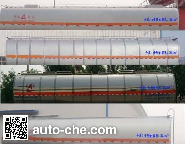 Changhua HCH9400GSY edible oil transport tank trailer