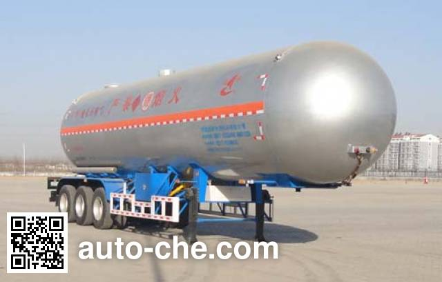 Changhua HCH9403GYQC liquefied gas tank trailer