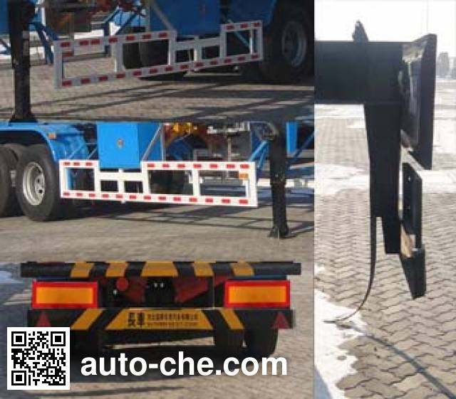 Changhua HCH9406GYQB liquefied gas tank trailer