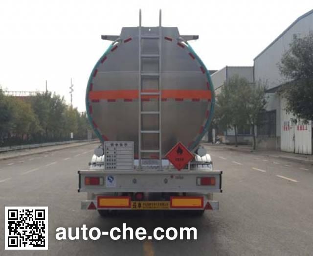 Changhua HCH9406GYYJC aluminium oil tank trailer